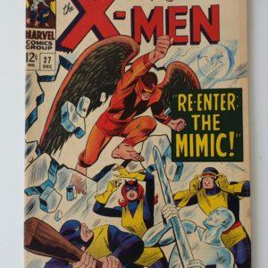 'The X-Men' #27 Vintage Marvel comic 1966