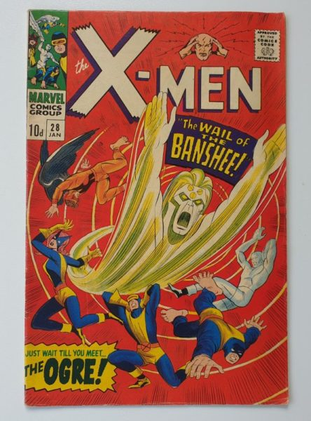 'The X-Men' #28 Vintage Marvel comic 1967