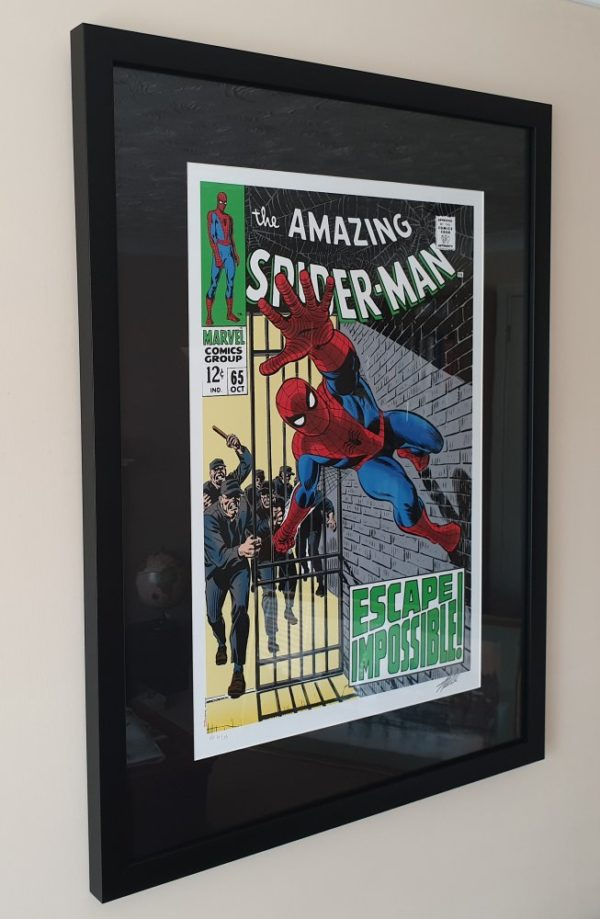 'Amazing Spider-Man 65' Signed Print Artists Proof Stan Lee