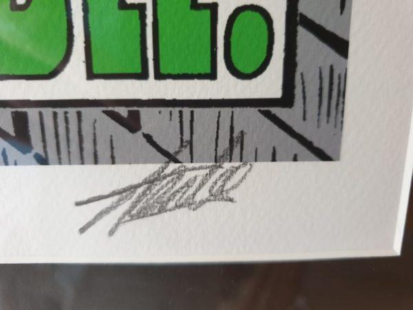 'Amazing Spider-Man 65' Signed Print Stan Lee