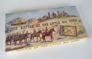 THE BATTLE OF THE LITTLE BIG HORN Vintage Board Game Waddingtons 1960's