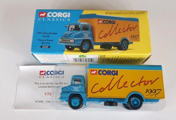 Corgi Classics 30305 Thames Trader Collector's Club 1997