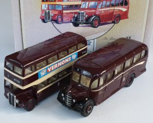 Corgi Classics 97061 Vintage COVENTRY BUS SET (AEC Bus and Bedford OB Coach)