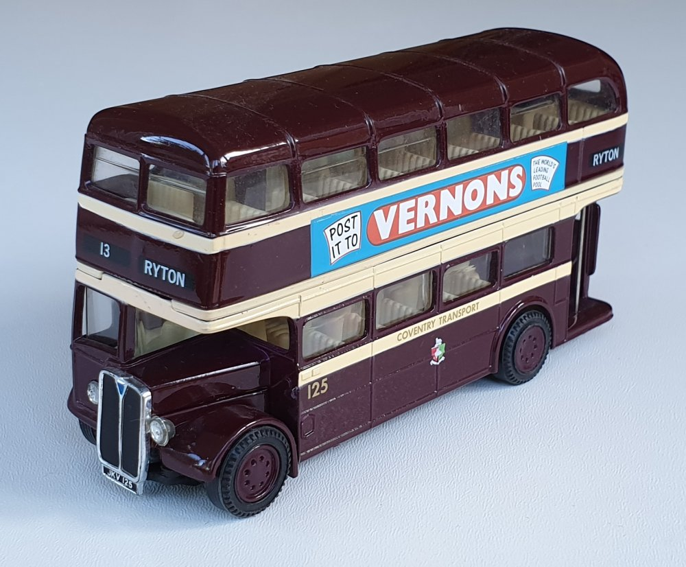Corgi Classics 97061 Vintage COVENTRY BUS SET (AEC Bus)