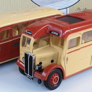 Corgi Classics 97063 Vintage YELLOWAY BUS SET (AEC Regal and Bedford OB Coach)
