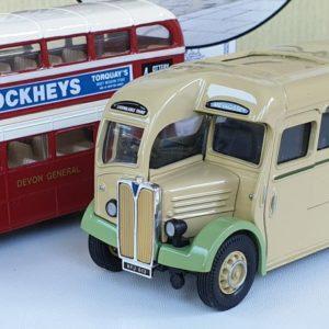 Corgi Classics 97071 Vintage DEVON BUS SET (AEC Regal and AEC Bus)