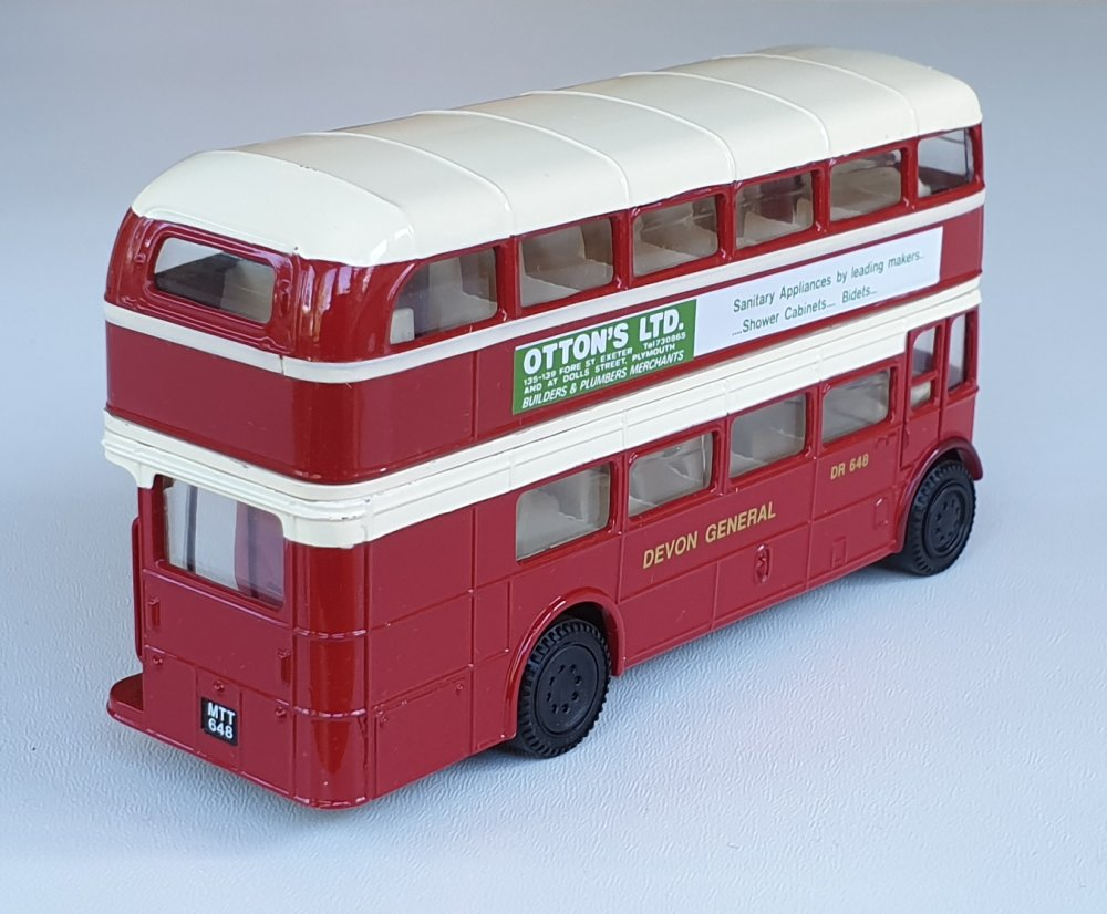 Corgi Classics 97071 Vintage DEVON BUS SET AEC Bus