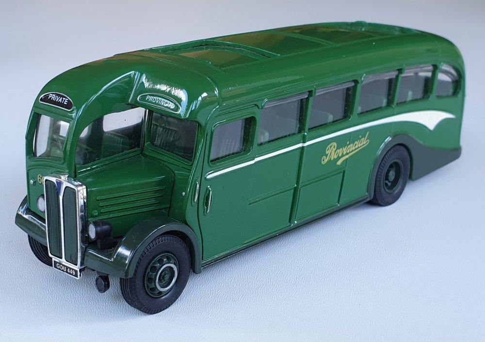 Corgi Classics 97072 Vintage PROVINCIAL BUS SET (AEC Regal coach) Gosport & Fareham