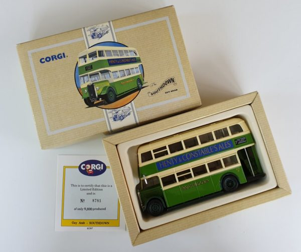 Corgi 97198 VINTAGE GUY ARAB BUS - Southdown of Brighton