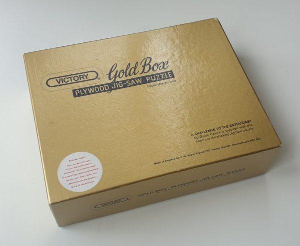 Vintage Victory Gold Box Jigsaw Puzzle 'Spring Symphony'