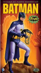 'Batman' (Adam West - 1960's TV series) plastic model kit by Moebius