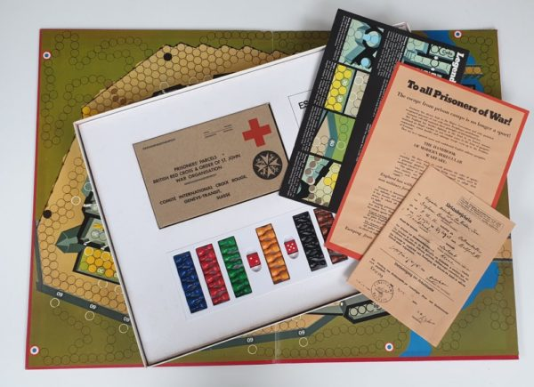 'Escape From Colditz' vintage board game by Parker 1970's