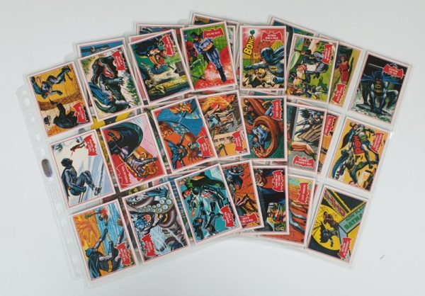 BATMAN 'RED BAT' GUM CARDS SET Topps (A&BC) Deluxe 1989 Reissue