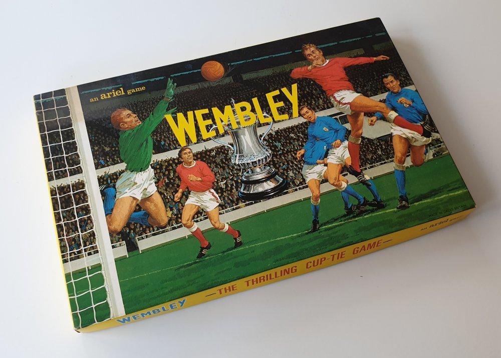Wembley F.A. Cup board game 1960's (Ariel)