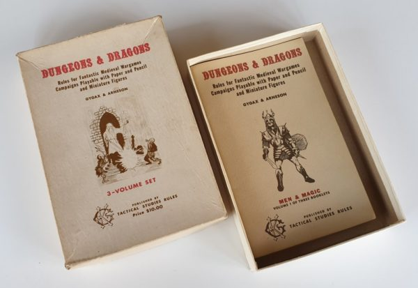 Original Dungeons & Dragons 5th Printing by TSR 1974