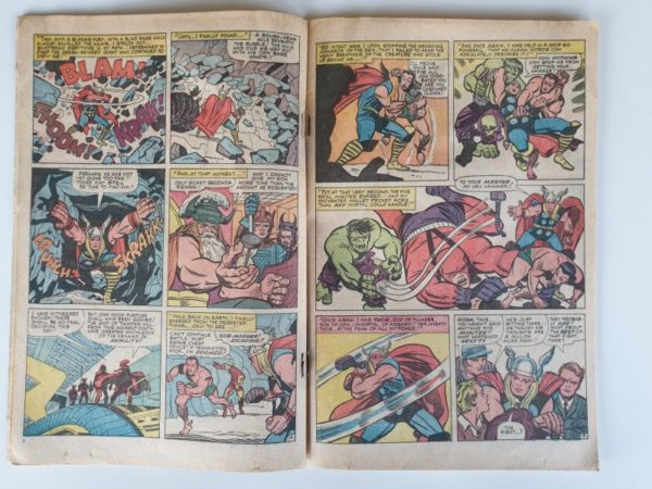 Journey Into Mystery The Mighty Thor #112 Vintage Marvel Comic 1965