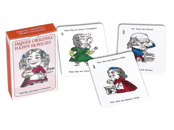 Jaques Original Happy Families card game Pepys