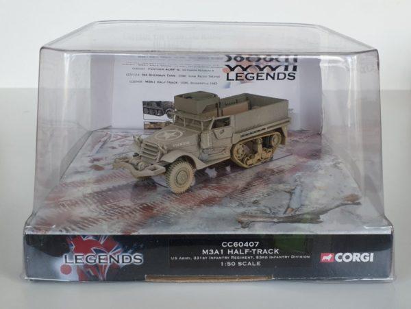 Corgi Legends CC60407 M3 Half Track 'Battle of the Bulge' Diecast Model