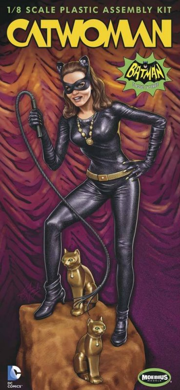 Moebius CATWOMAN 1/8 model kit Batman 1960s TV series