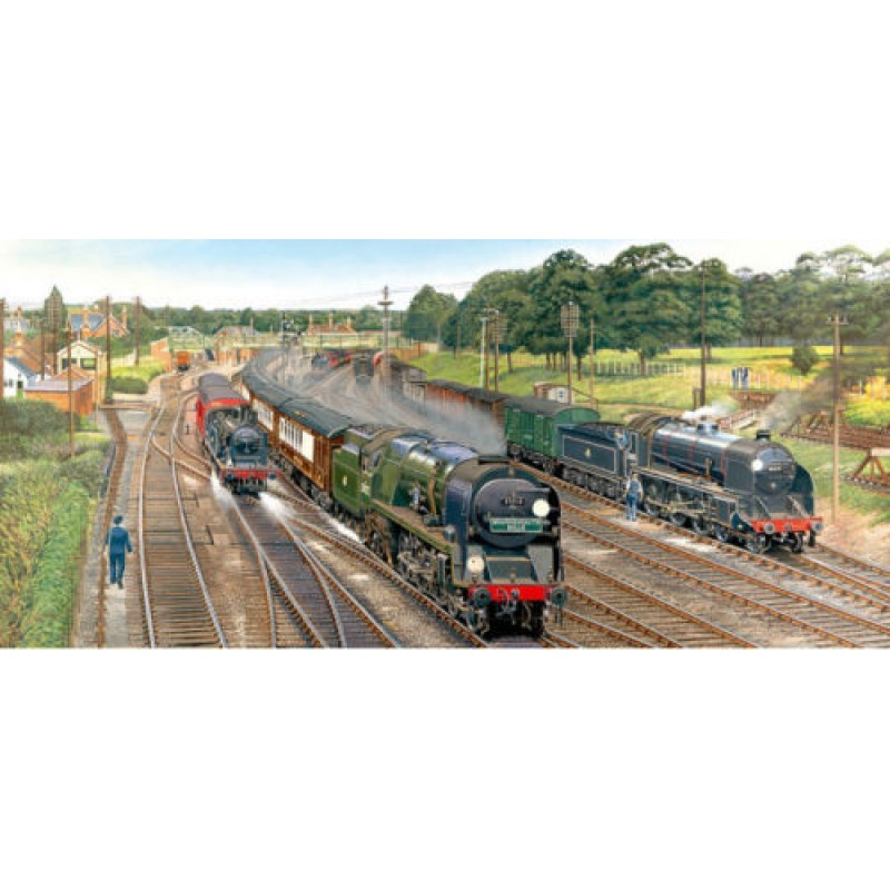 Gibson/'s New Forest Junction 636 Piece Jigsaw Brand New By Barry Freeman