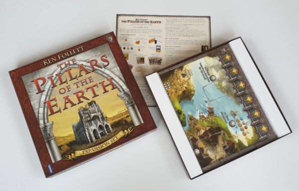 PILLARS OF THE EARTH board game EXPANSION SET