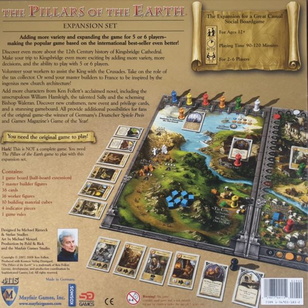 PILLARS OF THE EARTH EXPANSION SET Game info
