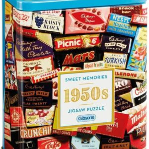 SWEET MEMORIES 1950s Jigsaw Puzzle 500 pieces Gibsons Tin
