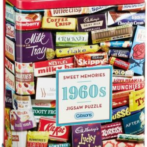 SWEET MEMORIES 1960s Jigsaw Puzzle 500 pieces Gibsons Tin