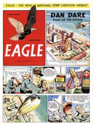 Eagle Comic Issue 1 Wentworth Wooden Jigsaw Puzzle 250 pieces