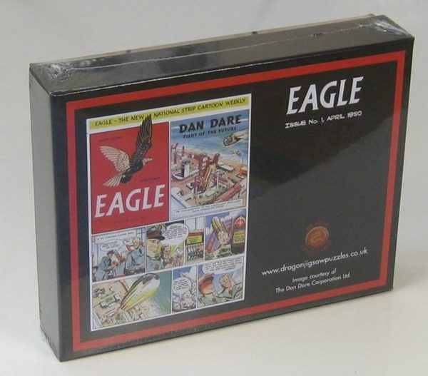 Eagle Comic Issue 1 Wentworth Wooden Jigsaw Puzzle 250 pieces box
