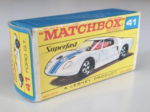 Matchbox Superfast 41 Ford GT diecast model