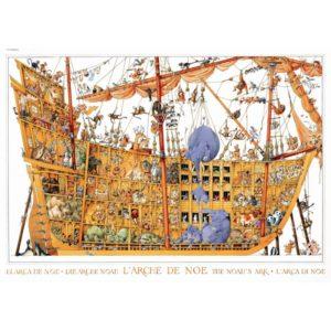 ARCHE NOAH (NOAH'S ARK) Jigsaw Puzzle (Heye) by Loup