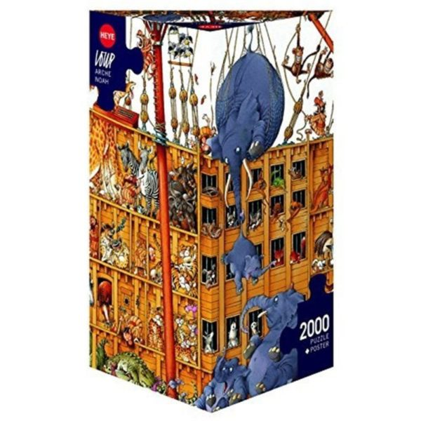 ARCHE NOAH (NOAH'S ARK) Jigsaw Puzzle (Heye) by Loup box