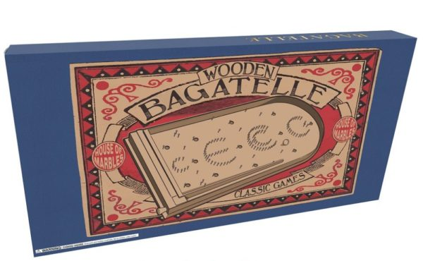 WOODEN BAGATELLE BOARD GAME - FULL SIZE