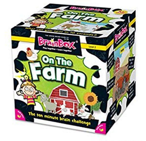 Brainbox ON THE FARM Educational Game