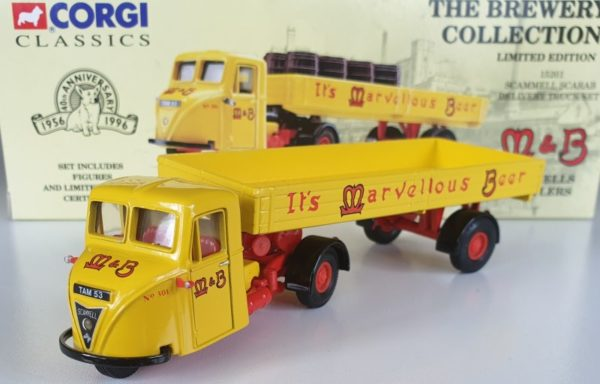 Corgi Classics 15201 Scammell Scarab Mitchells & Butlers Brewery