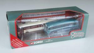 Corgi Original Omnibus OM45002 Varsity Set Oxford Cambridge