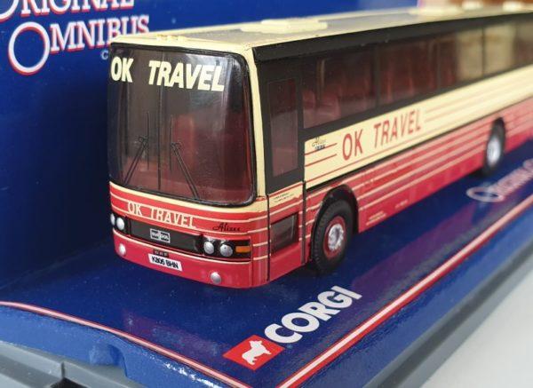 Corgi OOC Original Omnibus OM42705 Van Hool Alizee Coach OK Travel