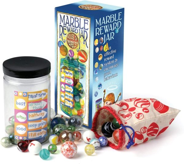 REWARD JAR WITH 50 MARBLES