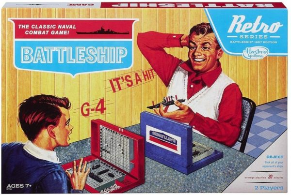 BATTLESHIP Retro Edition board game