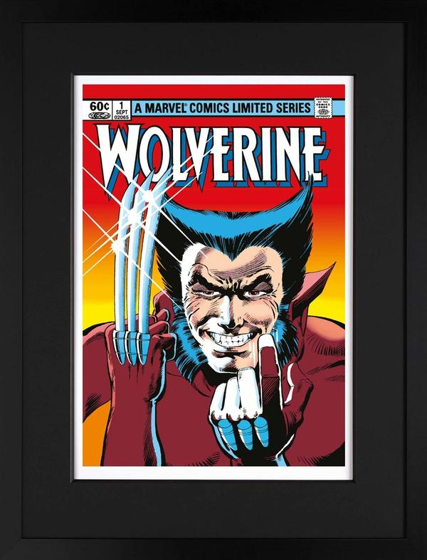 WOLVERINE Limited Edition Signed Print Stan Lee