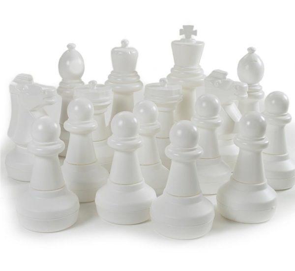 Giant Chess pieces White
