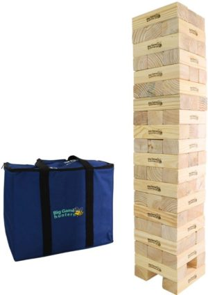 GIANT JENGA MEGA HI TOWER GARDEN GAME