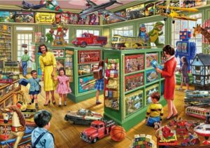 THE TOY SHOP Jigsaw Puzzle 1000 pcs Gibsons