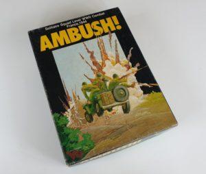 Vintage AMBUSH Board Game Victory Games Avalon Hill