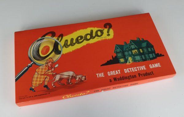 CLUEDO Vintage Board Game 1960s Waddingtons