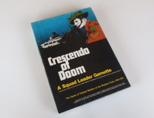 CRESCENDO OF DOOM Expansion for SQUAD LEADER Board Game AVALON HILL