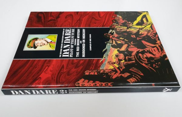 DAN DARE RED MOON MYSTERY MAROONED ON MERCURY Deluxe Collectors Edition Hardback HAWK BOOKS