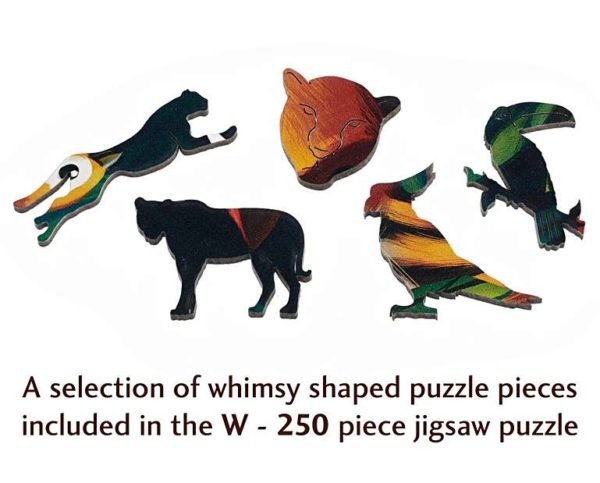 EYE OF THE TIGER Wentworth Wooden Jigsaw Puzzle Whimsies