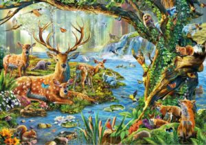FOREST LIFE Wentworth Wooden Jigsaw Puzzle
